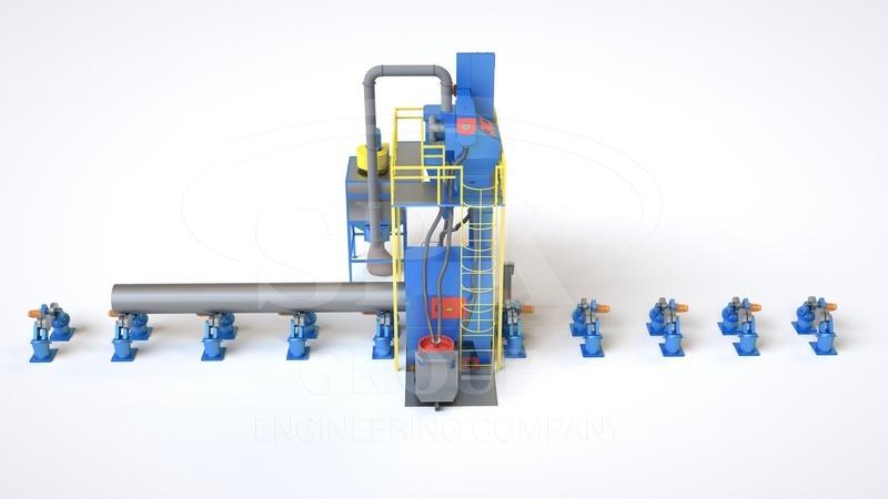 дробеметная обработка труб