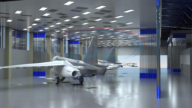 как перекрашивают самолеты
