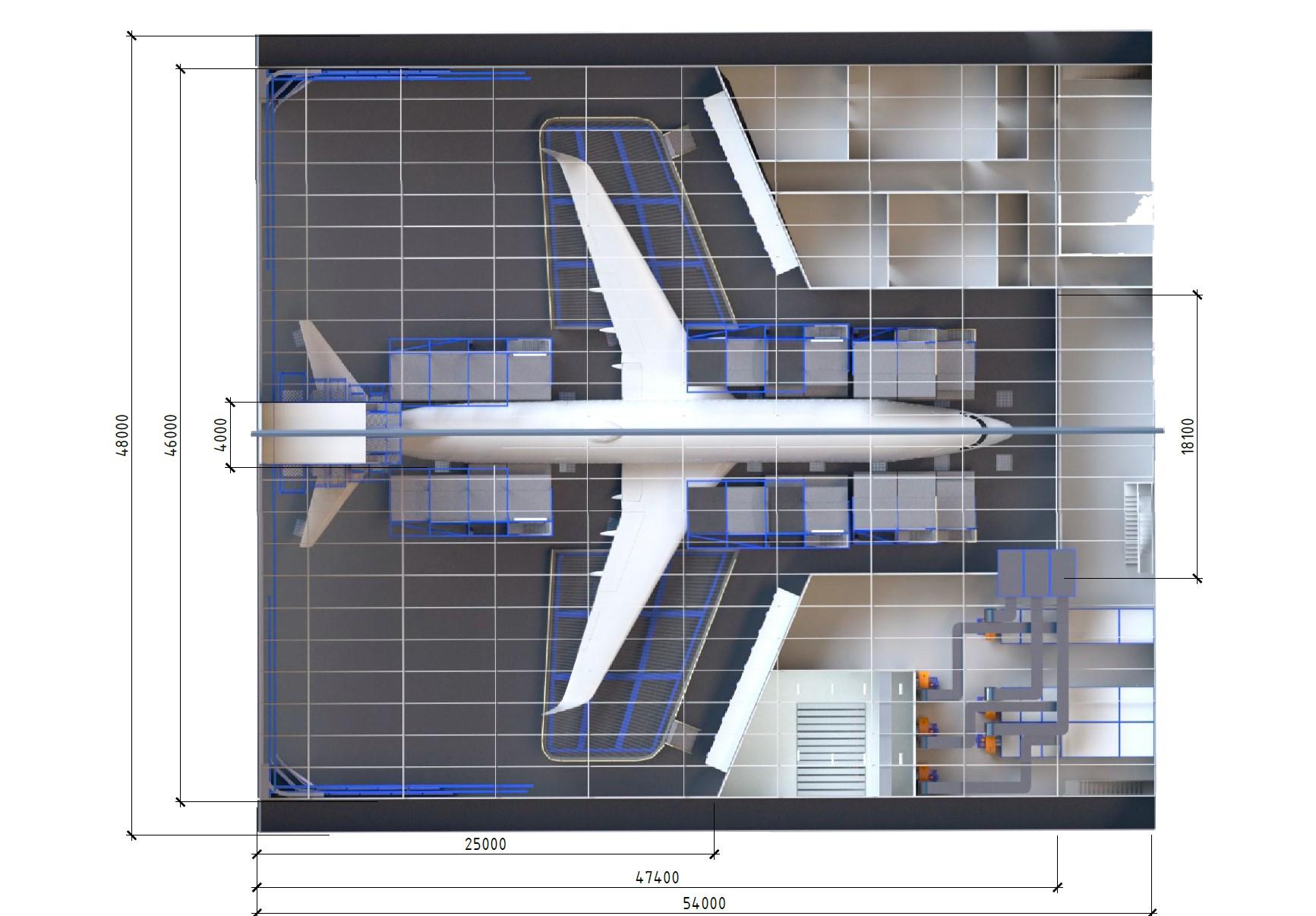 окрашивание самолетов